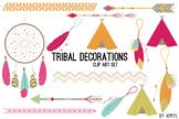 Tribal Clip Art Brights PNG Clip Art for Commercial Projec