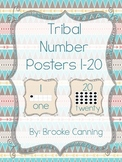 Tribal Number Posters
