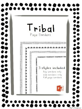 Tribal Page Borders