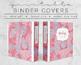 Tribal Print Binder Covers & Inserts