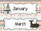 Tribal Print Classroom Calendar