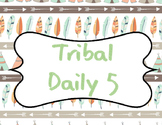 Tribal Print Daily 5 Posters