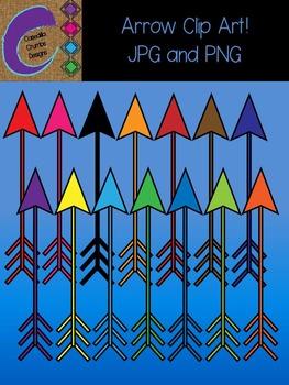 Tribal Rainbow Arrow Clip Art Images Designs