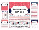Tribal Teacher Binder 2017-2018 (Covers, Spines, Forms & C