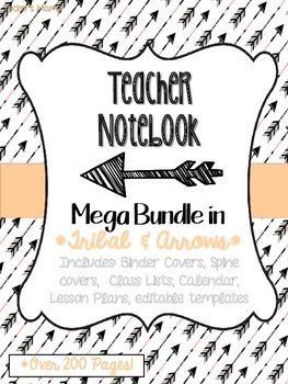 Tribal Teacher Notebook