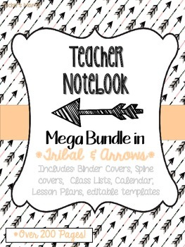 Tribal Teacher Notebook