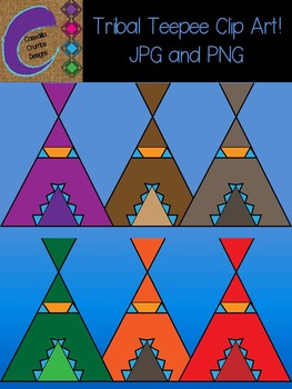 Tribal Teepee Clip Art Images Designs