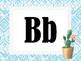 Tribal Theme Classroom Alphabet and 1-10