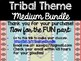 Tribal Theme Classroom Decor: Build Your Own Medium Bundle
