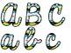 Tribal Theme Classroom Decor: Bulletin Board Script Letters