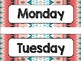 Tribal Theme Classroom Decor: Days of the Week
