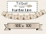 Tribal Theme Number Line