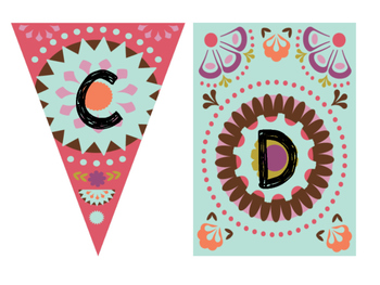 Tribal Theme Word Wall Labels