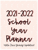 Tribal Themed School Calendar / Planner