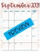 Tribal Themed School Calendar / Planner
