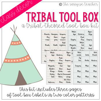 Tribal Toolbox Labels