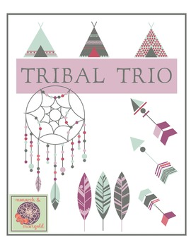 Tribal Trio ClipArt