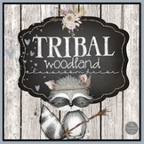 Tribal Woodland Forest Classroom Decor