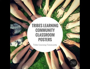 Classroom Rules - Tribes Agreements Posters