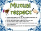 Tribes Agreements Posters / Classroom Rules