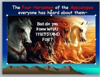 Tribulation: The Four Horsemen of the Apocalypse