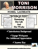 Toni Morrison: WebQuest Tribute to Her Life and Works (4 P