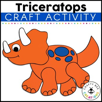 Triceratops Cut and Paste