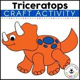 Dinosaur Craft {Triceratops}