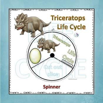 Triceratops Dinosaurs (Life Cycle Spinner)