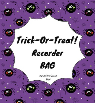 Trick-Or-Treat: BAG Recorder