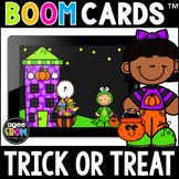 Trick Or Treat Halloween/Fall Math Boom Cards™ Numbers 0-1