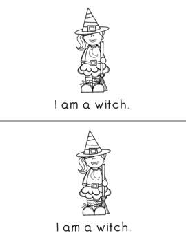 Trick Or Treat - Halloween Emergent Reader
