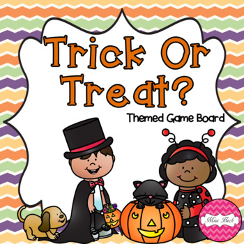 Trick Or Treat Halloween Themed Board Game