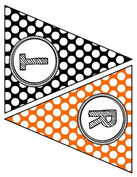 """""""Trick Or Treat"""" Pennant Flag Banner"""