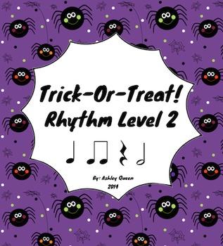 Trick-Or-Treat: Rhythm Level 2 (Ta, Ti-Ti, Shh, Half Note)