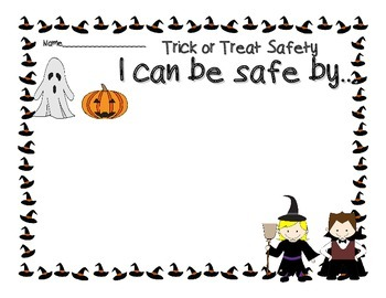 Trick-Or-Treat Safety Practical Living for Program Review