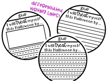 Trick Or Treat Yourself Craft and Writing