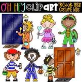 Trick Or Treating Kids - Costume Kids (Oh Hey ELA Art)