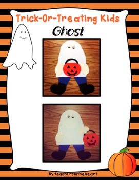 Trick Or Treating Kids -Ghost Craft