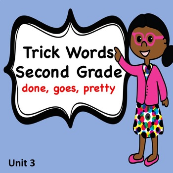 Trick Word Books for Second Grade