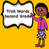 Trick Word Books for Second Grade (Bundle)