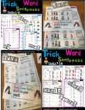 Trick Word Sentences First Grade -Wilson Fundations 1 (RTI