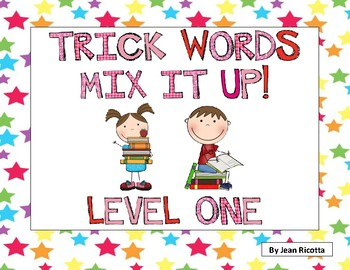 Trick Words Mix It Up! Level One