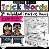 Trick Words Practice - Interactive Readers for 2nd Grade -