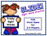 Tricky Words SLIDE! No Prep Word Game FIRST GRADE