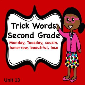 Trick Words Second Grade