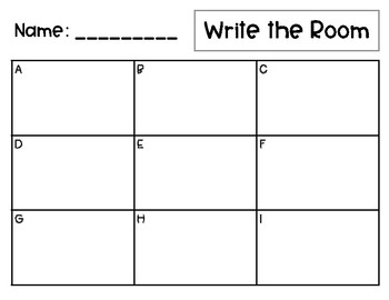 Trick Words: Write the Room BUNDLE! Level 1