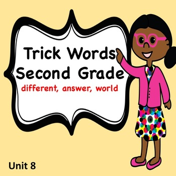Trick Words for Second Grade