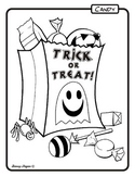 Trick or Treat Bag Coloring