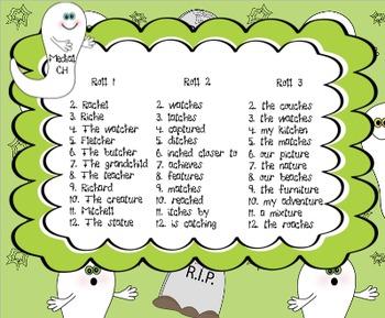 Trick or Speak: Articulation Sentences Pack (R,S,L,SH,CH,TH)